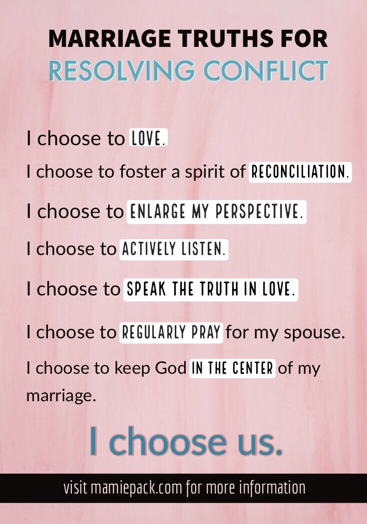 conflict in marriage