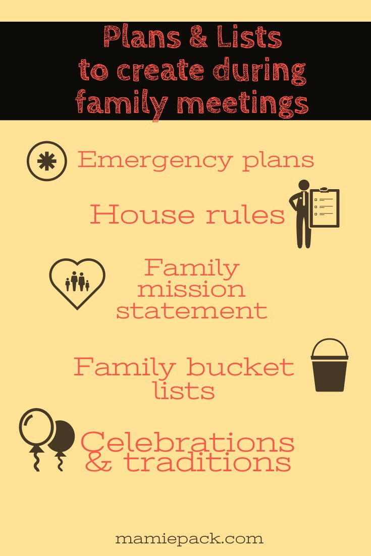 Family meetings are an effective way to build communication, family traditions, and build family memories your kids will remember.