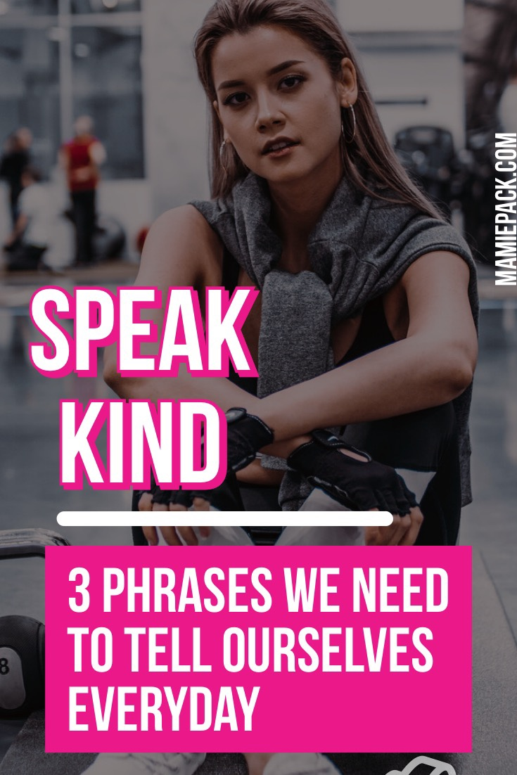 speak kind