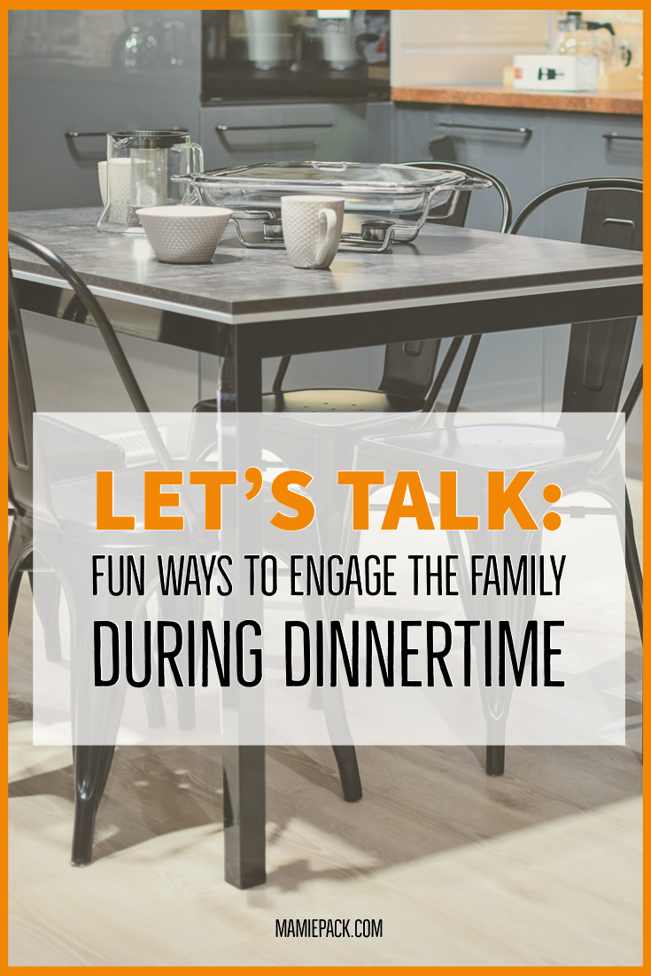 Family bonding is easy when we use dinnertime to cultivate healthy relationships.  #family #familytime #parenting
