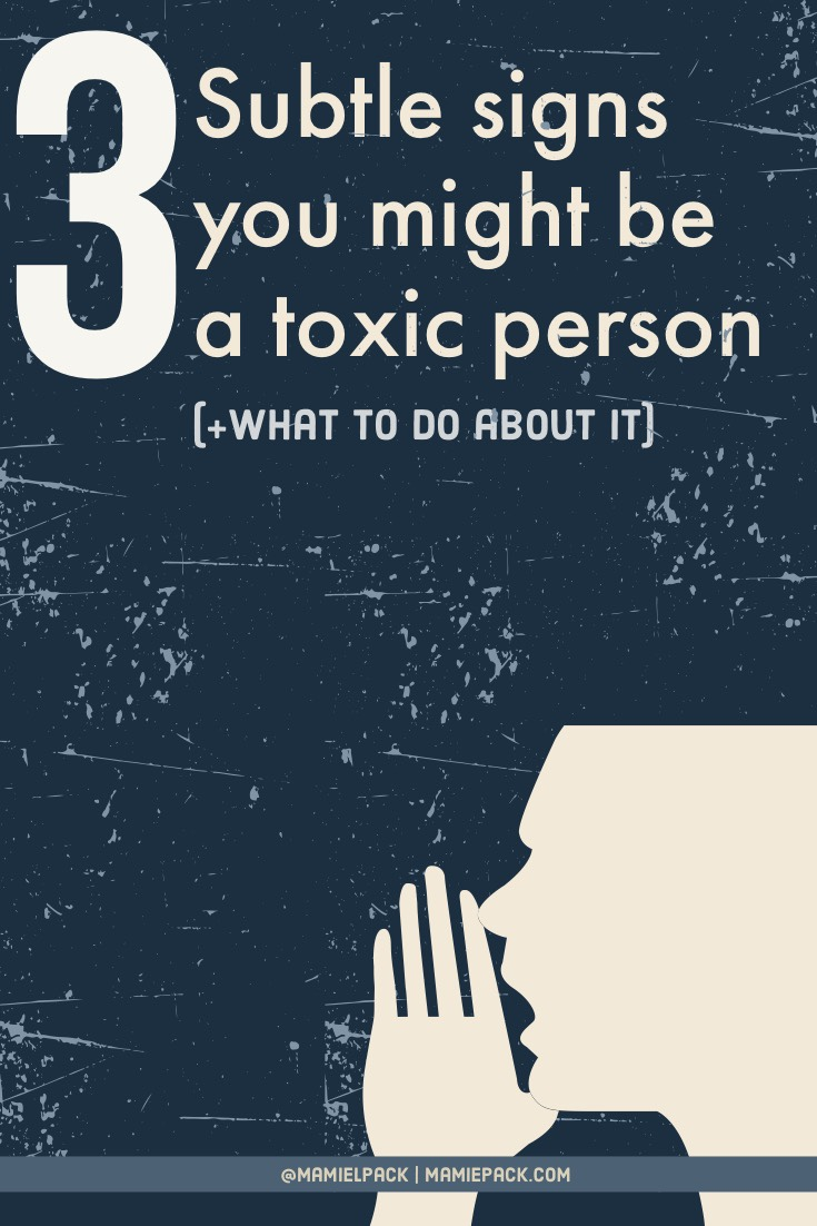 toxic person