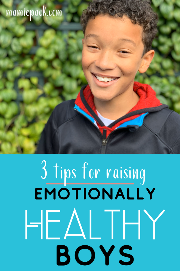 Raising Emotionally Healthy Boys #raisingboys #emotionallhealth #momlife #boymom #parentingtips