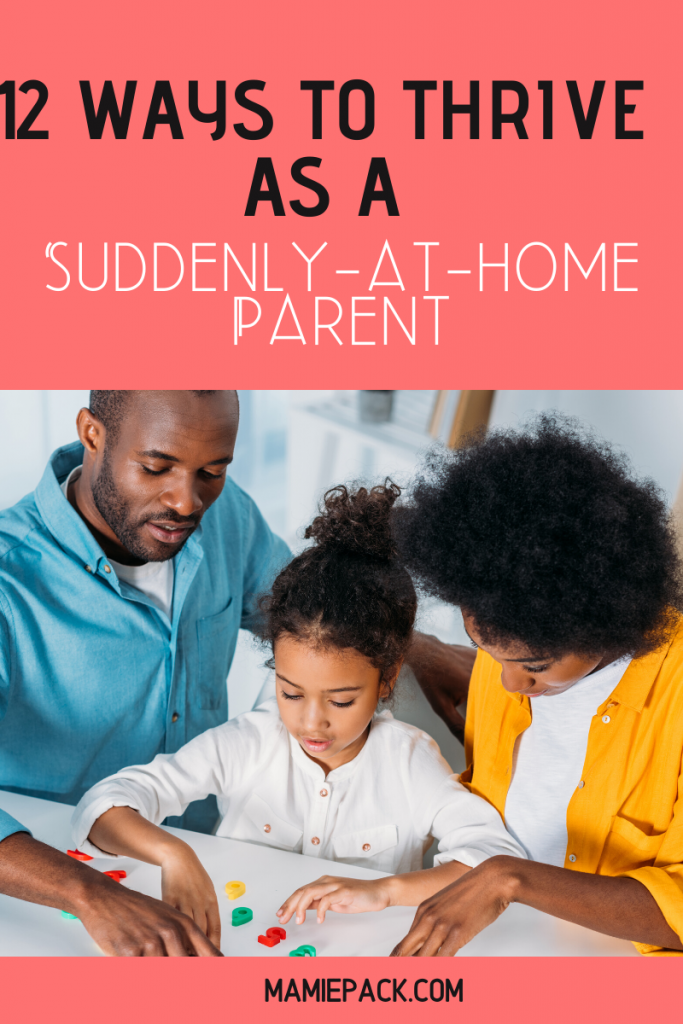 Adjusting to a new norm for parents during this time means dealing with stress, changes in schedules, becoming a stay-at-home parent.