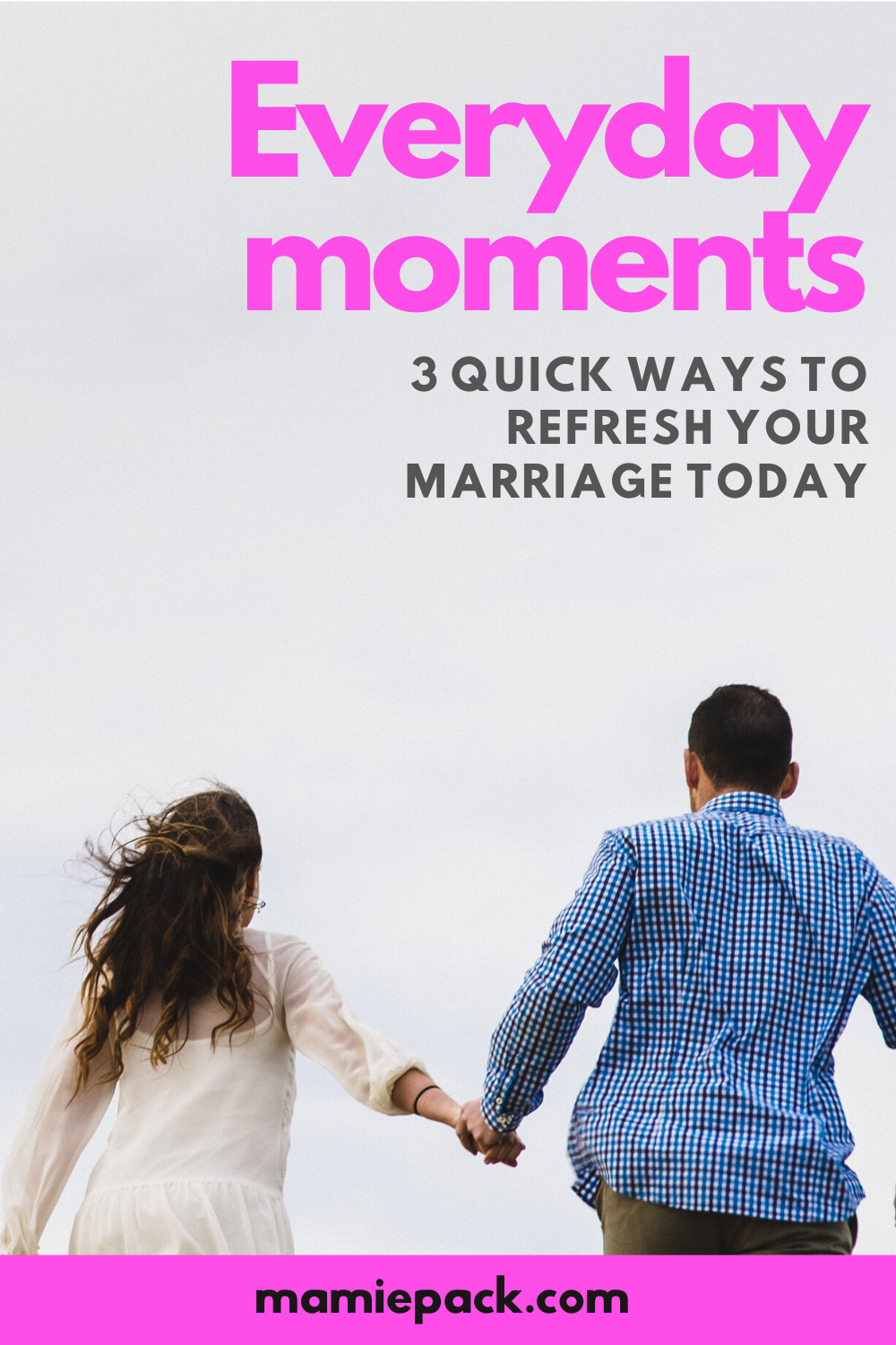 Building a healthy marriage is simple when we identify wasy to refresh our marriage.  Taking time to connect with your spouse in these 3 ways. #marriage #marriageadvice #relationshipadvice